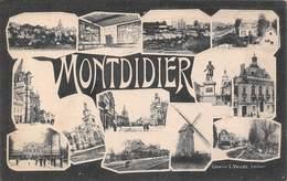 Montdidier (80) - Librairie L. Vallée Editeur - Montdidier
