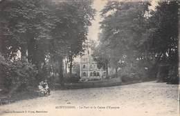 Montdidier (80) - Le Parc Et La Caisse D'Epargne - Montdidier