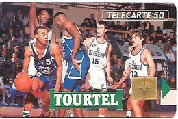 CARTE=-PRIVEE-50U-EN 343-GEM-04/92-TOURTEL-UTI LISEE-TBE-V° INVERSE (Normal)- - France