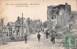 Ruines De Montdidier (80) - Rue St Saint Pierre - Montdidier