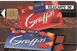 CARTE=-PRIVEE-50U-10/92-EN457-SO3-GRAFFITI-BAHLSEN-UTILISE-TBE - France