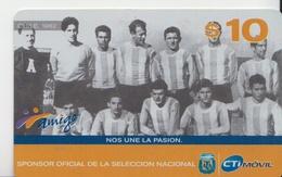ARGENTINA 2005 FOOTBALL TEAM CHILE 1962 - Sport