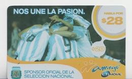 ARGENTINA 2005 FOOTBAL TEAM SELECCION NACIONAL NOS UNE LA PASION - Sport