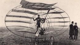 Precurseurs Aviation Marquis D'Ecquevilly Multiplan Ancienne Carte Postale Russe 1908 - ....-1914: Precursors