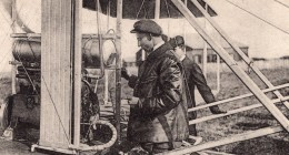Precurseurs Aviation Freres Wright Avion Ancienne Carte Postale Russe 1908 - ....-1914: Precursors