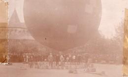 Russie Moscou Foule Autour De Ballon Captif Aviation Ancienne Photo 1909 - Aviation