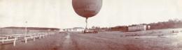 Russie Moscou Aviation Transport De Ballon A Gaz  2 Anciennes Photos Panoramiques 1912 - Aviation