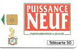 CARTE=-PRIVEE-50U-09/93-EN754-GEMA-EDF PARTENAIRES 2-R°Glacé-UTILISE-TBE - France