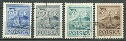 POLAND Oblitéré 823-826 Fête Nationale - Usati