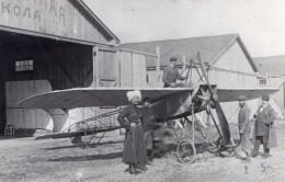 Aviateur Polonais Scipio Del Campo A Moscou Russie Photo Ancienne 1911 - Aviation