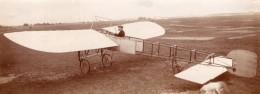 Moscou Pionnier De L'Aviation Russe Boris Rossinsky Monoplan Hanriot Ancienne Photo 1911 - Aviation
