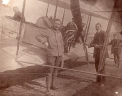 Russie Moscou Aviation Essai De Moteur Rhone 80HP Ancienne Photo 1914 - Aviation