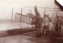 Russie Moscou Aviation Essai De Moteur Rhone 80HP Avion Ancienne Photo 1914 - Aviation