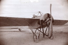 Russie Moscou Henri Pequet Morane Saulnier Construction Dux Aviation Ancienne Photo 1914 - Aviation