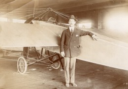 Russie Moscou Aviation Ingenieur Morane Saulnier Boutmi Ancienne Photo 1914 - Aviation