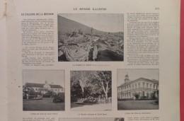 1904 LE CYCLONE DE LA REUNION - SAINT PIERRE - SAINT DENIS - Livres, BD, Revues