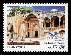 Lebanon 2018 Mih. 1656 EUROMED. Houses Of The Mediterranean MNH ** - Lebanon