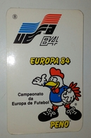 Calendrier De Poche, Championnat D'Europe De Football, France 1984 - Calendriers