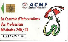 CARTE=-PUCE-PRIVEE-D588-02/91-SO3-ACMF-N° Lot A 123598-UTILISE-TBE- - France