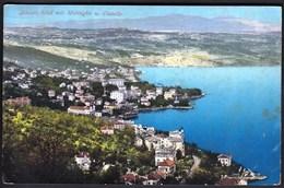 Croatia Opatija 1911 / Abbazia Total Mit Mattuglie U. Castello / Purger - Croatie