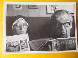CPM Photo THEISSEIN / VOLLER ERNST - Humour Journal Payboy  Regards Indiscret Religieuse - Humor