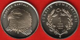 "Turkey 1 Lira 2014 ""Eagle"" BiM. UNC - Turquie"