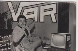 Pubblicità Mivar Radio Tv Autografo Domenico Modugno - Pubblicitari