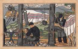 """64 -  Belle Carte Illustrée Par Pablo TILLAC   """" Le Maréchal Ferrant """" ( Voir Descriptif ) - Pau"""