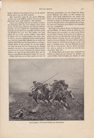 Auf Der Fährte - Josef Brandt - Kirgisen Auf Der Jagd - Abbildung Aus Der Gute Kamerad 1931 (37133) - Kinder- En Jeugdtijdschriften
