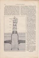 Der Rotesand-Leuchtturm - Artikel Mit 2 Abb. - Aus Der Gute Kamerad 1931 (37135) - Kinder- & Jugendzeitschriften