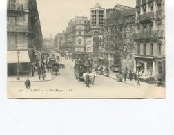 CPA - PARIS  -  5ème - La Rue Monge -  Tramway - Animée  - Non Circulée - - Arrondissement: 05