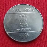 India 2 Rupees 2008 B KM# 327  Lt 75   Inde Indie - Inde