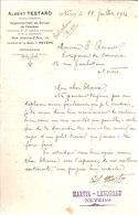 Albert Testard. Inspecteur Chef Du Service De L'abattoir. Infirmerie. Nevers. 1916. - France
