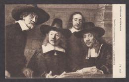 PR135/ REMBRANDT, *Le Syndic De La Guilde Des Drapiers - Staalmeesters, Détail*, Amsterdam, Rijksmuseum - Pittura & Quadri
