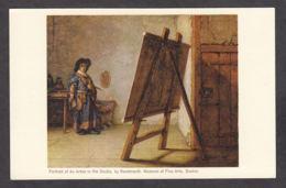 PR138/ REMBRANDT, *L'Artiste Dans Son Atelier*, Boston, Musée Des Beaux-Arts - Pittura & Quadri