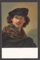 PR145/ REMBRANDT, *Autoportrait - Selbsporträt*, Ed Stengel & Co N° 29729 - Paintings