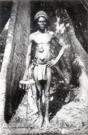 Cpa  Colonies  Francaises  Indigène De La Règion Des  Adjaas  Dahomey. - Dahomey