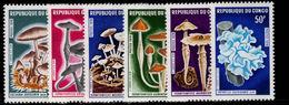 Congo Brazzaville 1970 Mushrooms Unmounted Mint. - Congo - Brazzaville