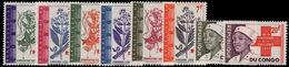 Congo Kinshasa 1963 Red Cross Unmounted Mint. - Belgian Congo