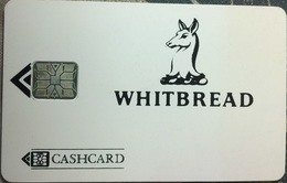CASHCARD : Whitbread Beer With SC6 Chip / Reverse White - United Kingdom