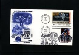 USA 1994 Space / Raumfahrt Apollo 11 Interesting Cover - Estados Unidos