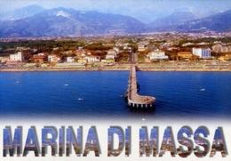 Marina Di Massa - Panorama Dall'aereo - Formato Grande Viaggiata – E 8 - Massa