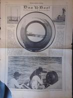 Berliner Illustrirte Zeitung - Das U-Boot - Mehrere Abbildungen (37145) - Zeitungen & Zeitschriften