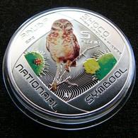 Aruba 5 Florin 2012 Owl Shoco  Silver Netherland Antilles - [ 4] Colonie