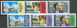 Cote D'Ivoire YT N°922/927 Félix Houphouet-Boigny (2x Triptyque Se-tenant) Neuf/charnière * - Ivory Coast (1960-...)