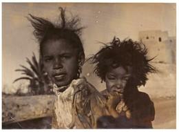 Photo : Maroc. 2 Fillettes Du Sud. - Anonymous Persons