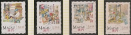 Macau Macao Chine 1994 - Lojas Tradicionais Chinesas - Traditional Chinese Shops - MNH/Neuf - Neufs