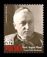 Poland 2018 Mih. 5024 Cardinal August Hlond MNH ** - 1944-.... Republic