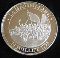 LA MARSEILLAISE 14 JUILLET 1795 COLLECTION  REVOLUTION FRANCAISE 1789 17 99 MEDAILLE  JETON TOURISTIQUE - Tourist