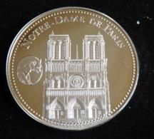 NOTRE DAME DE PARIS LES PLUS BEAUX TRESORS DU PATRIMOINE DE FRANCE MEDAILLE JETON TOURISTIQUE - Tourist